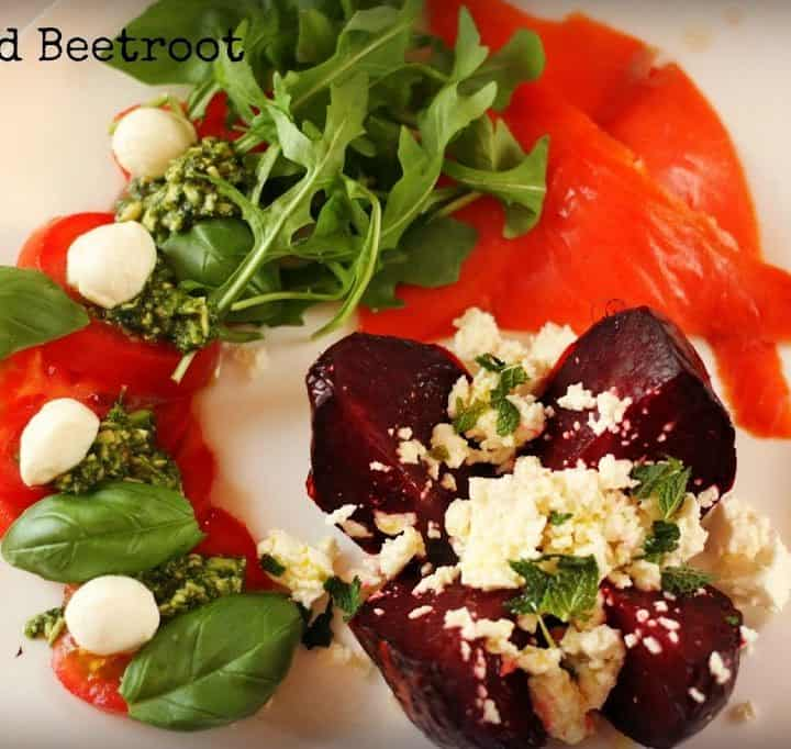 Seriously easy Paleo dinner-Roasted Beetroot Salad