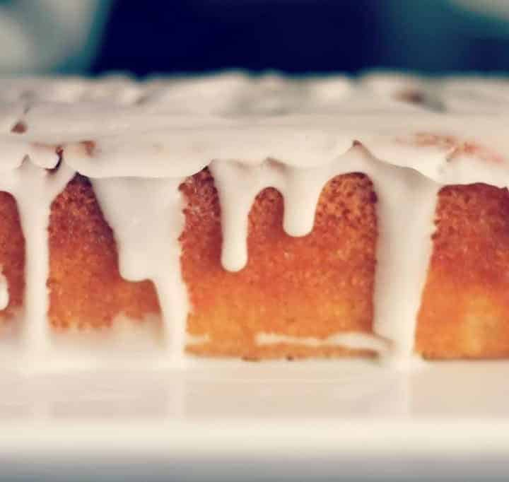 Perfect every time lemon drizzle cake