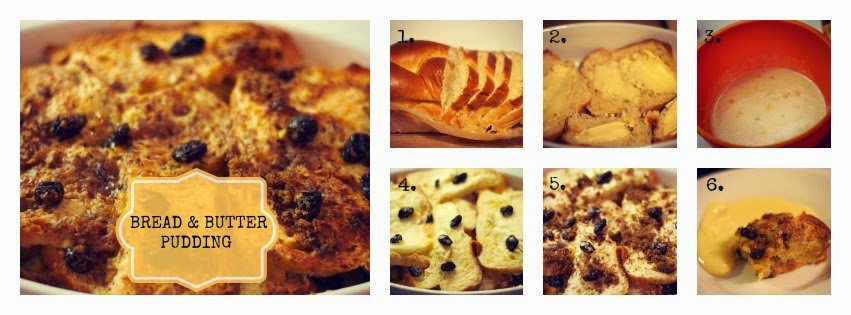recipe bread and butter pudding