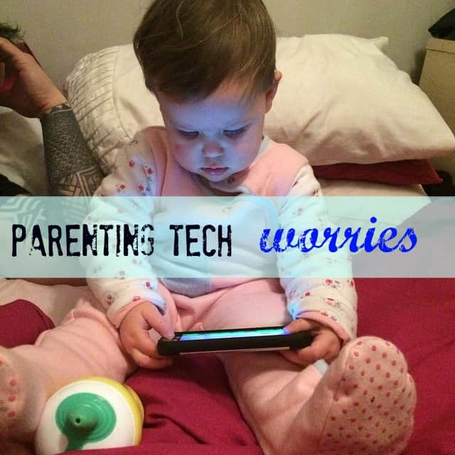 parenting tech worries