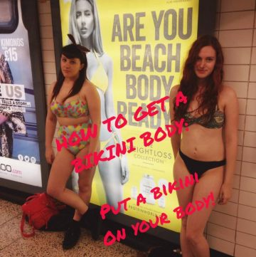Are you beach body ready? (why this statement makes me fume)
