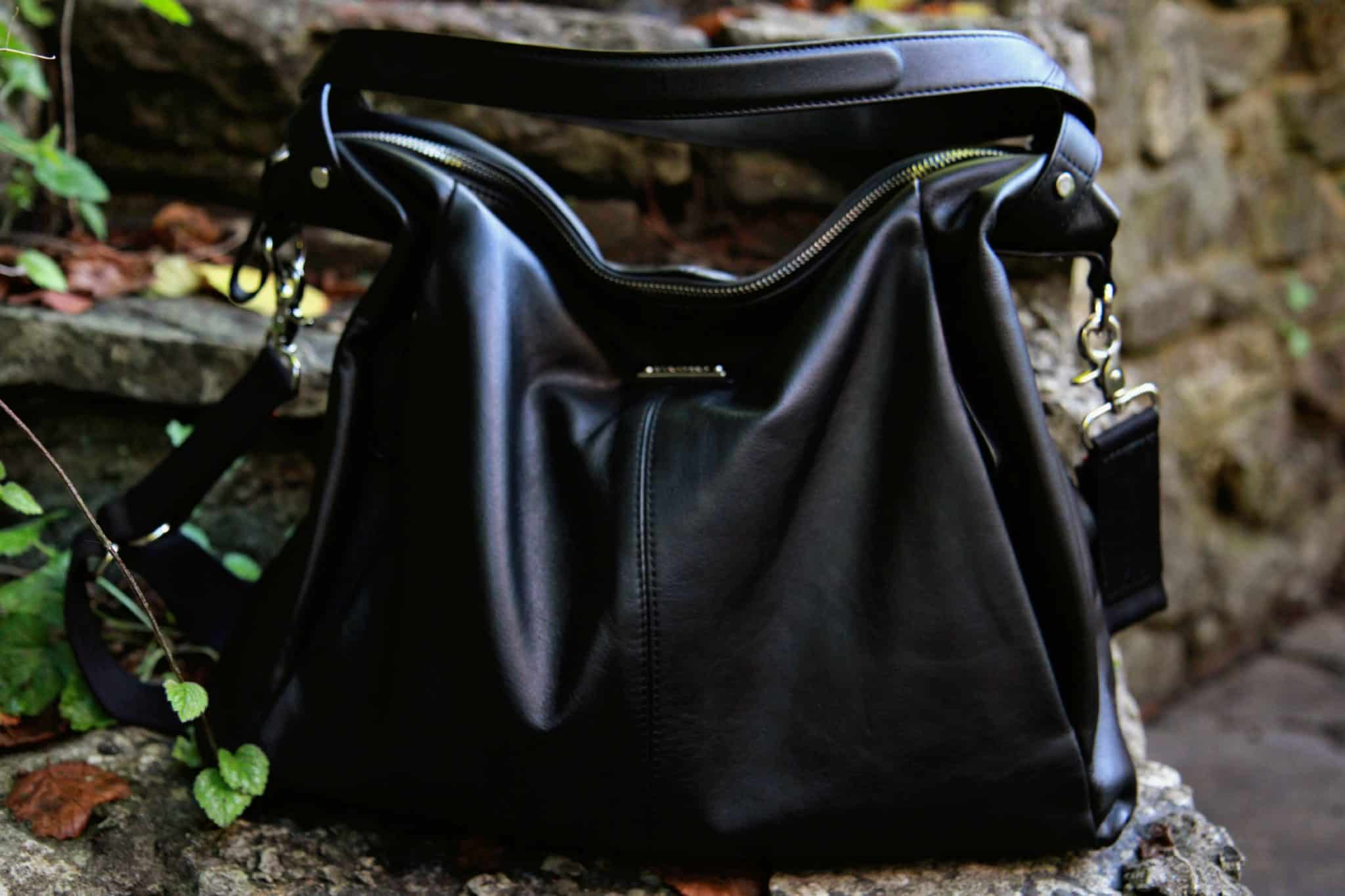 Catherine Storksak leather changing bag-new for Autumn Winter