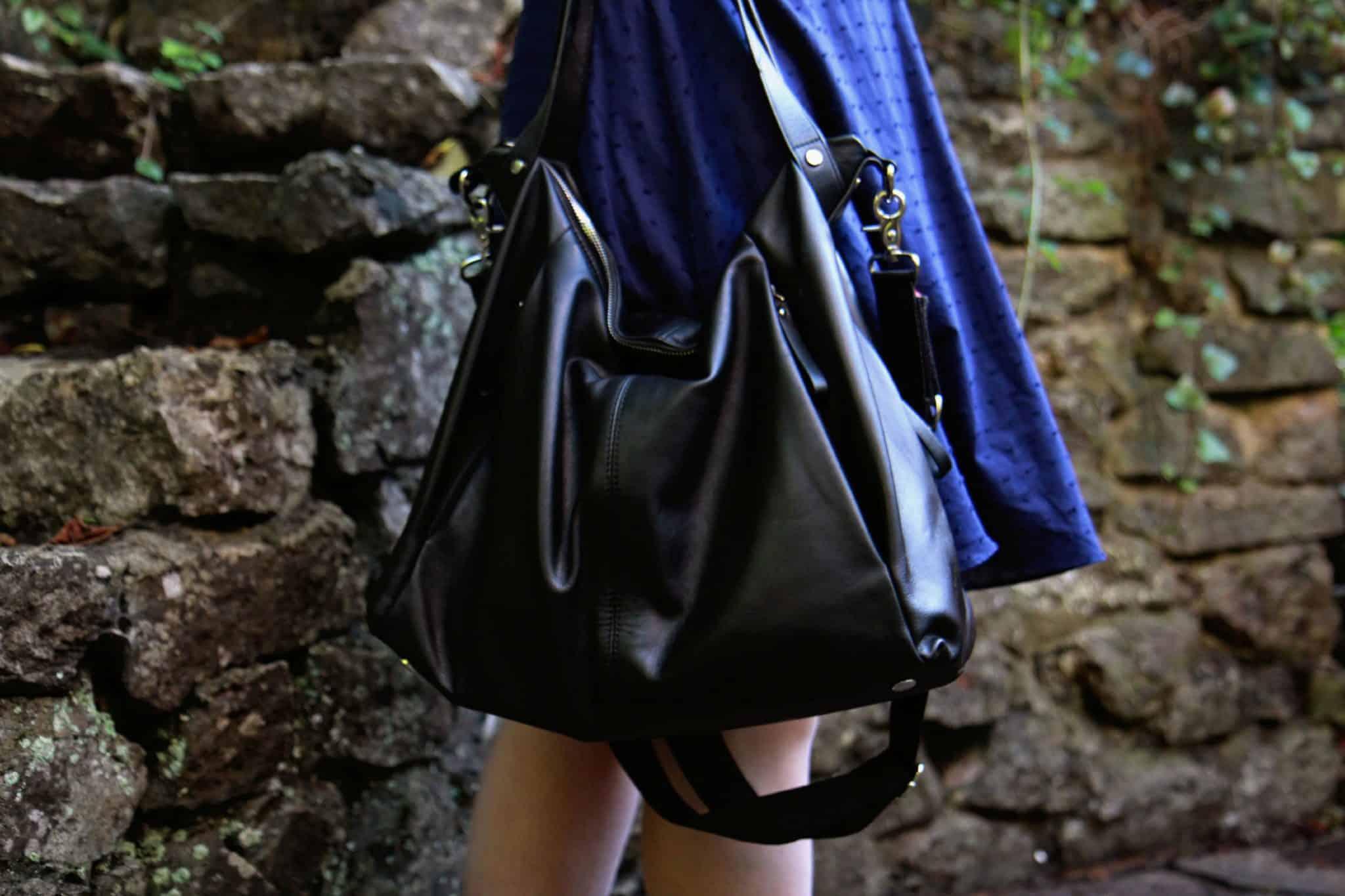 storksak leather catherine changing bag