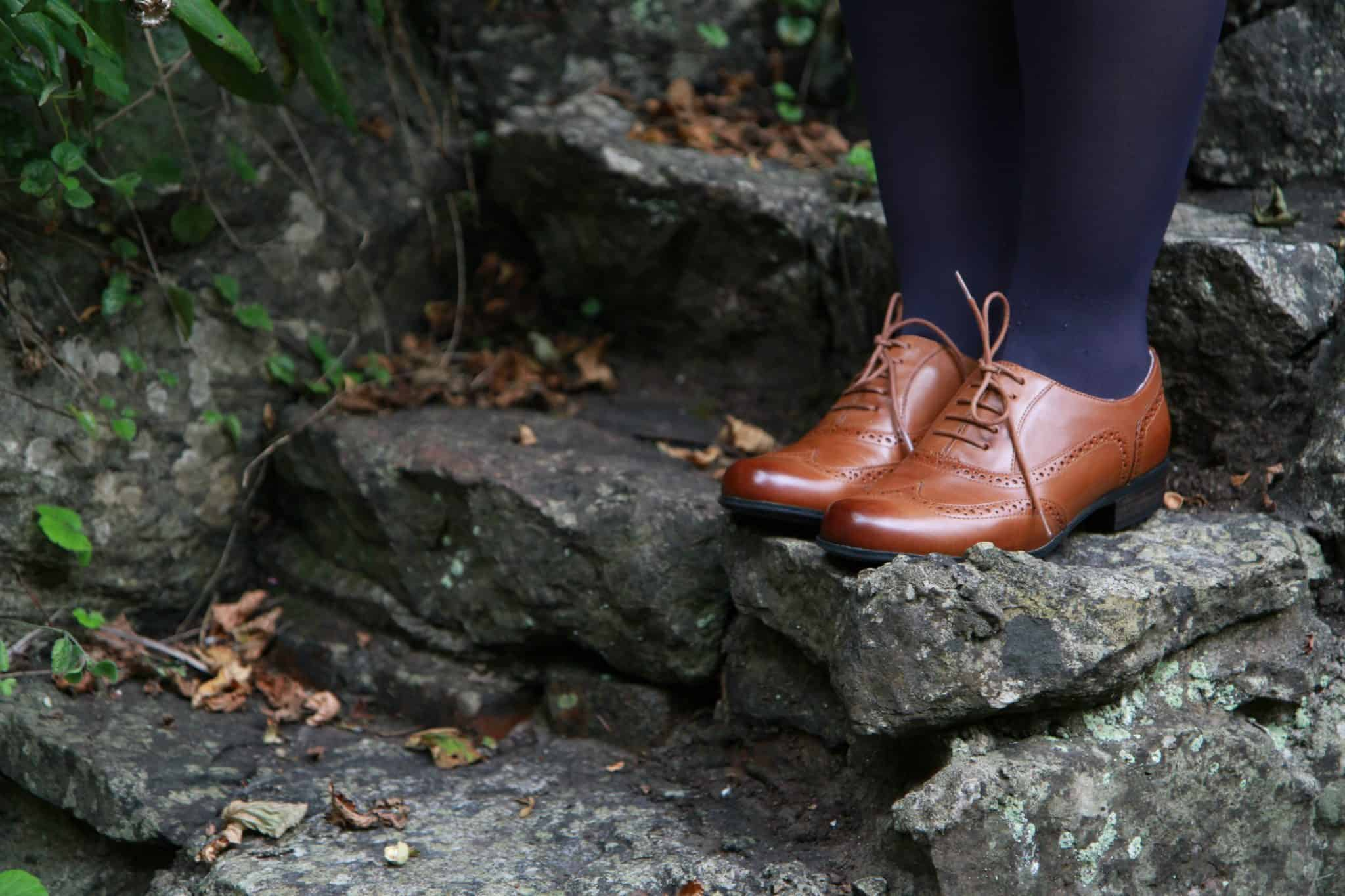 Brantano for Clarks ladie's brogues