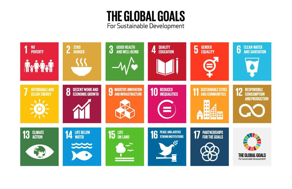 The 16 Global Goals