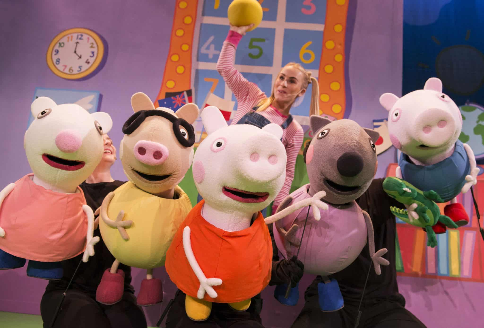 Peppa Pig live UK tour