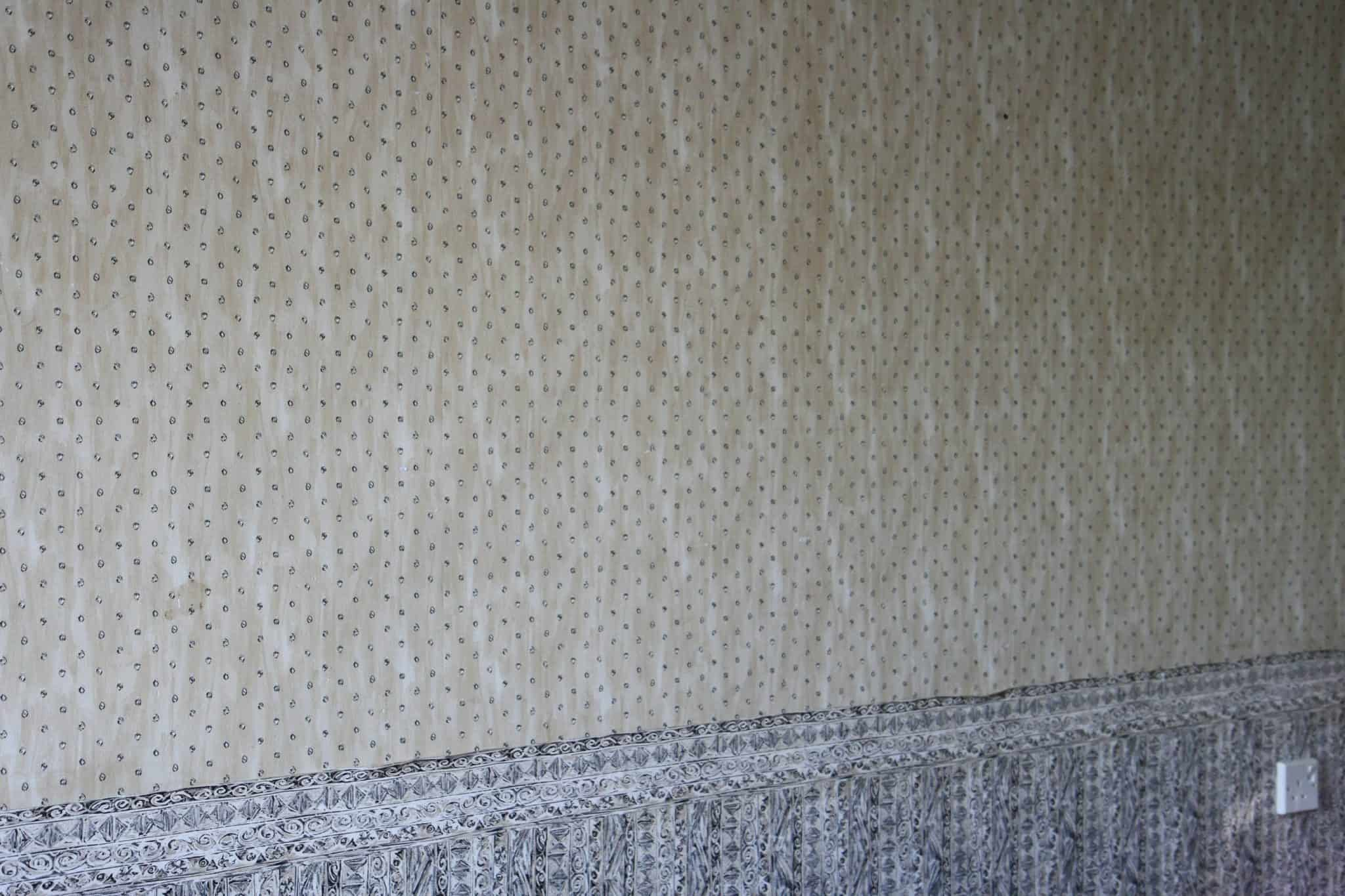 Picture of horrible wallpaper