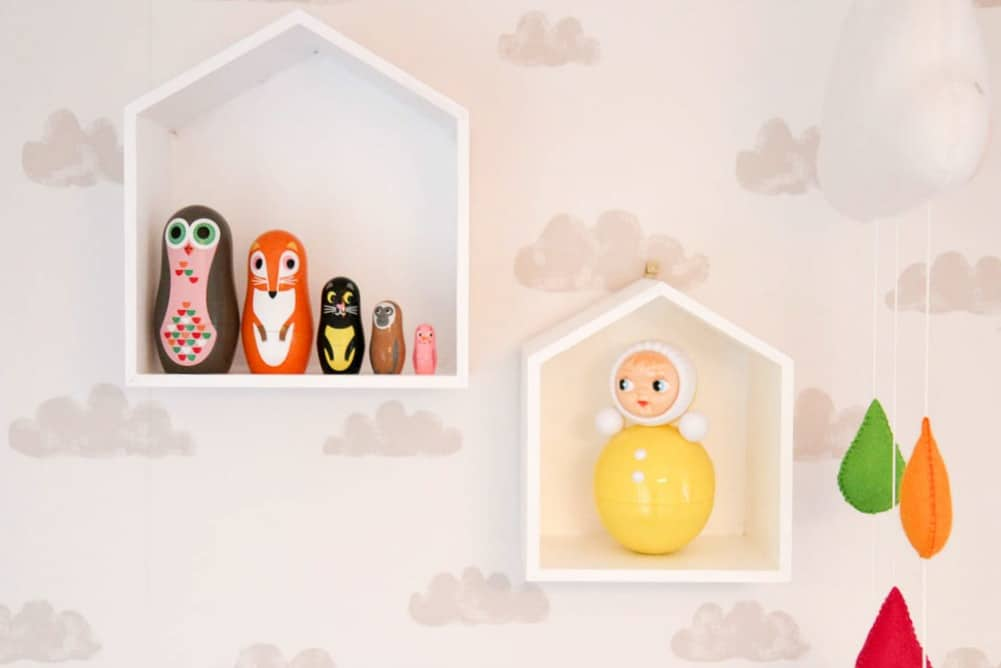 Ingela P Arrhenius nesting dolls and