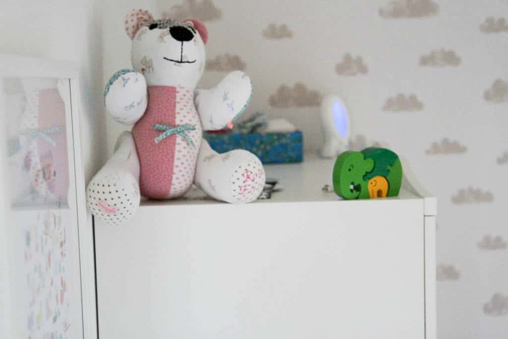 memory bear and elephant jigsaw
