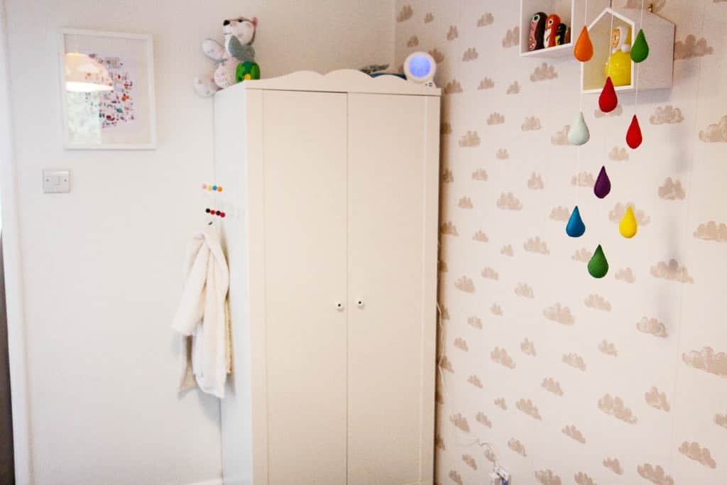 Kid's ikea wardrobe