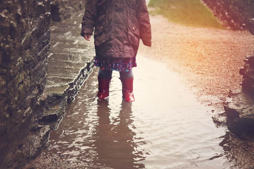 Bobux i-walk girls boots in 'brick'