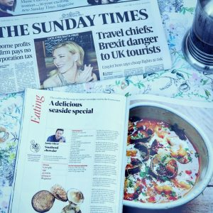 The Sunday Times magazine and newspaper
