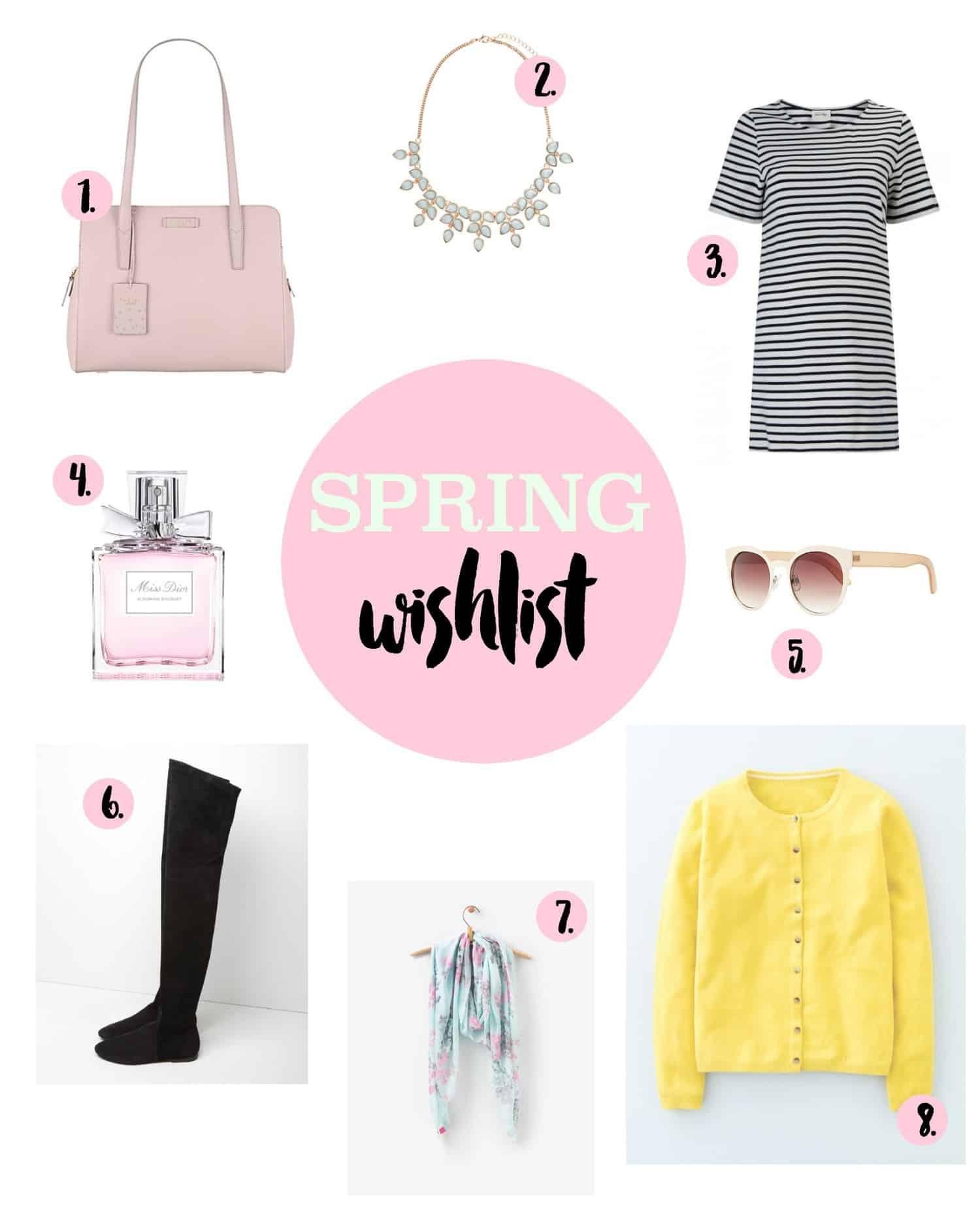 Spring 2016 wishlist