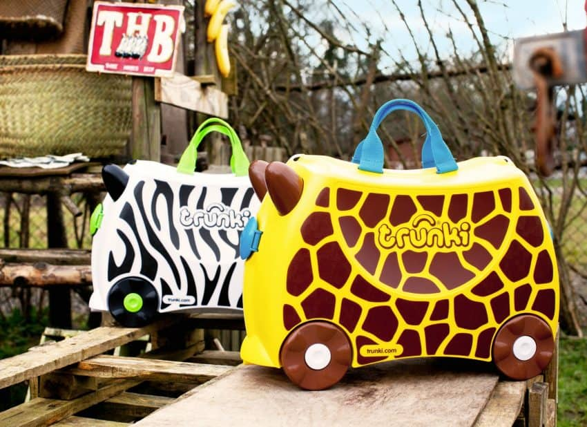 For every Gerry the Giraffe sold, Trunki will give £5 to Bristol Zoo to go towards the new giraffe house