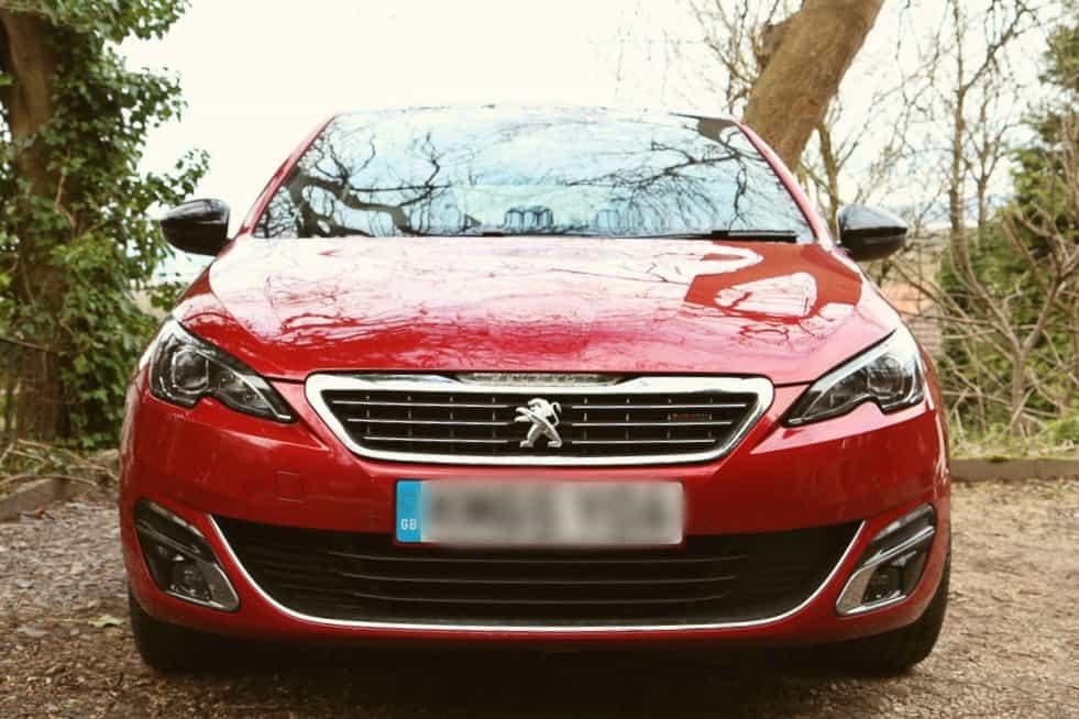 Peugeot 308 gt FRONT VIEW