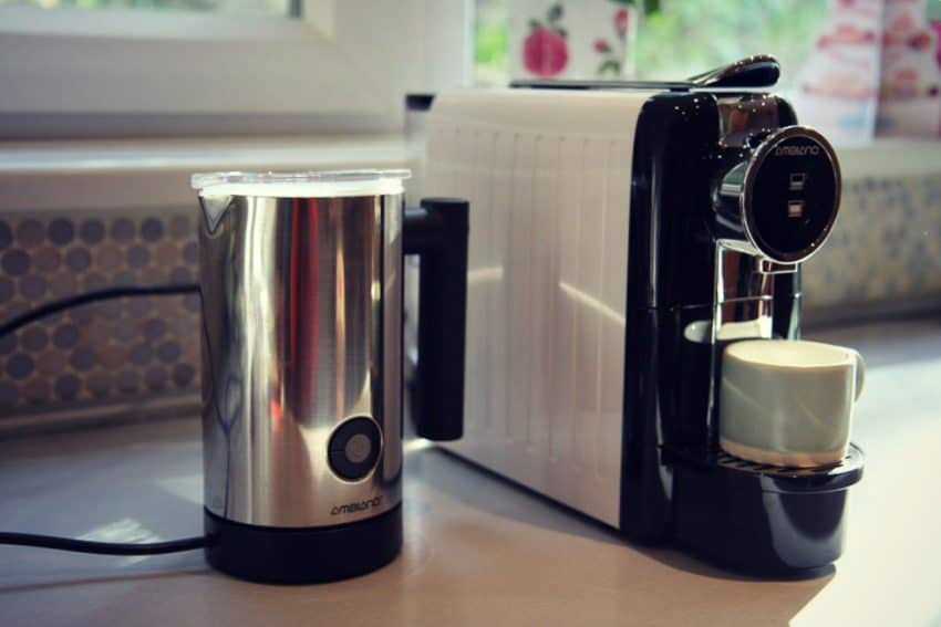 Aldi special buy Coffee Capsule machine and milk frother