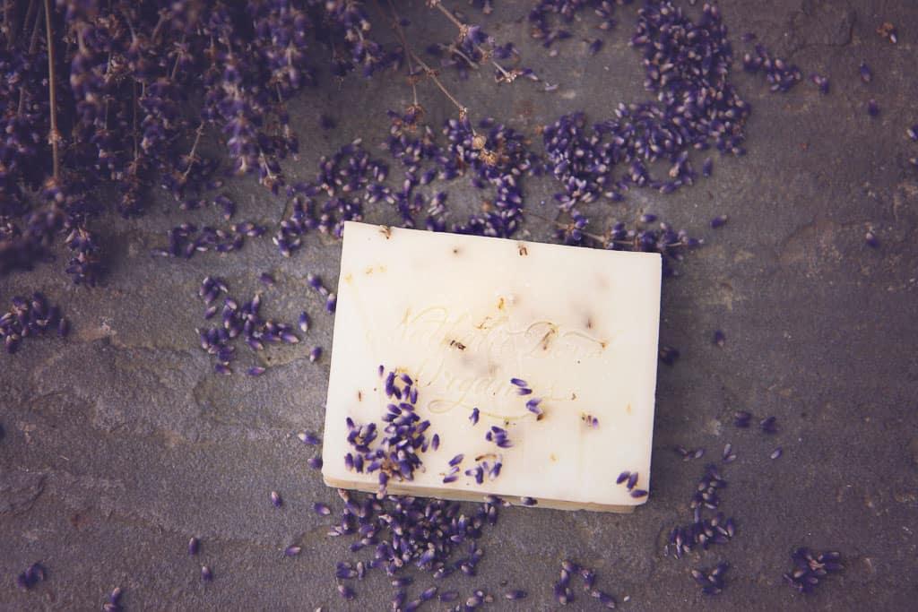 lavender soap from Nathalie Bond Organics