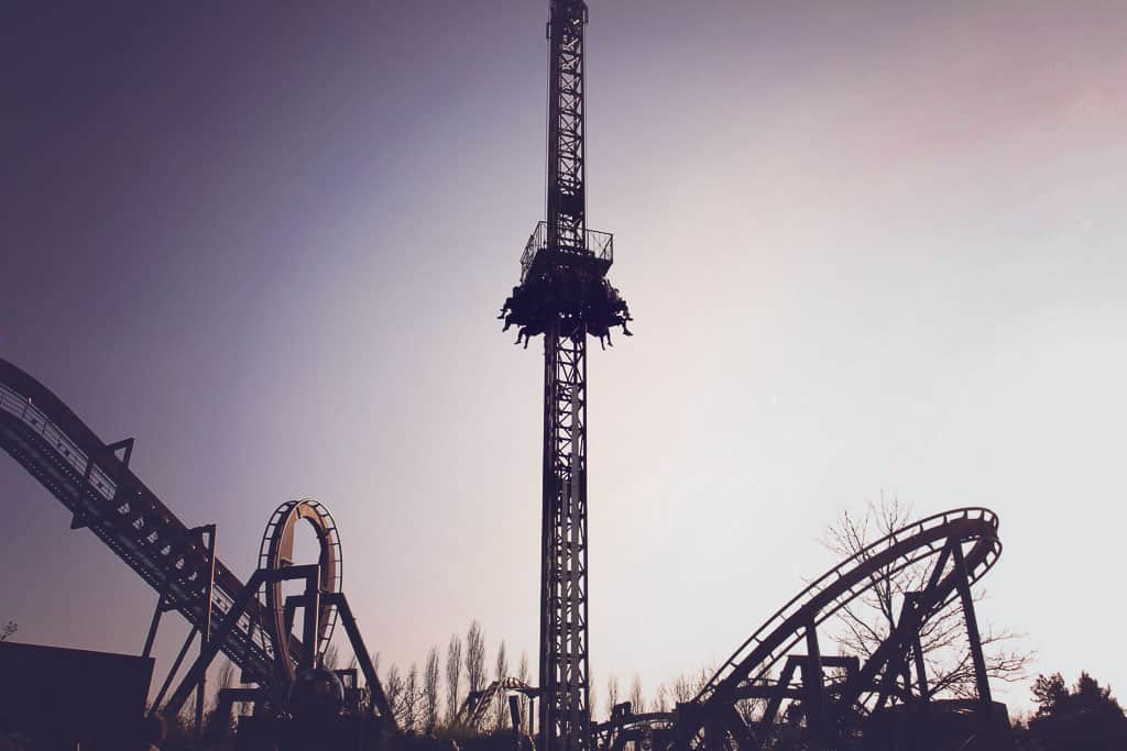 Detonator ride at Thorpe Park