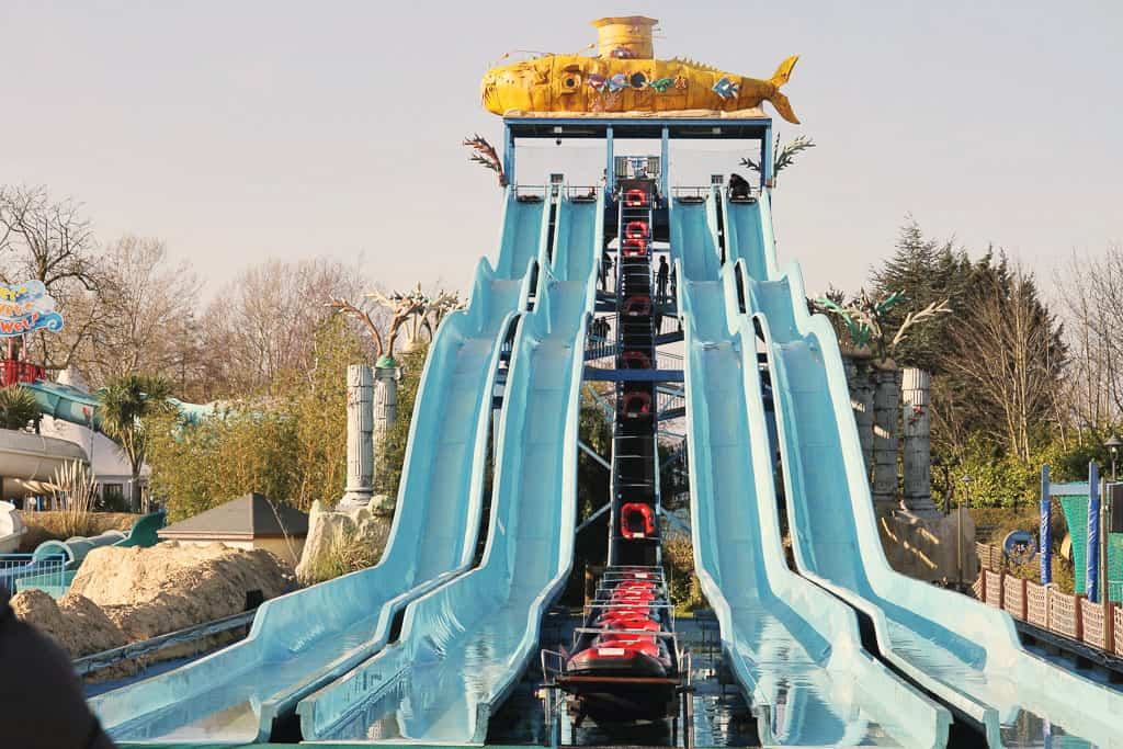 Depth Charge ride at Thorpe Park