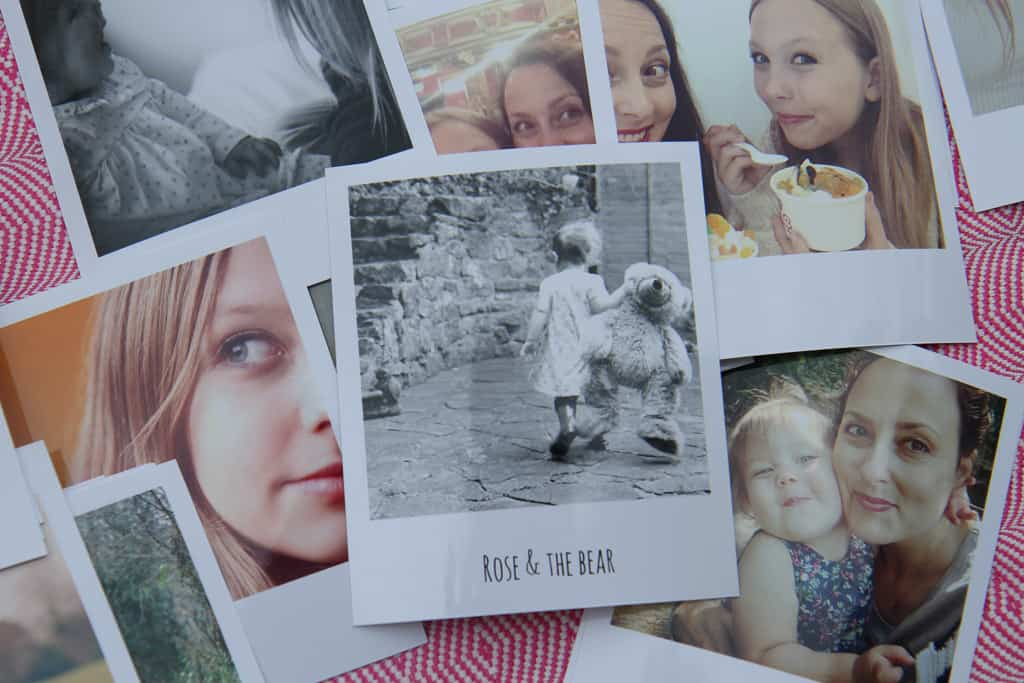 A stack of prints from Cheerz-the place online to print your images