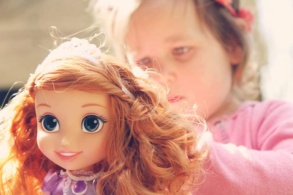 Disney Toddler Doll Princess Sofia with Royal Reflection Eyes