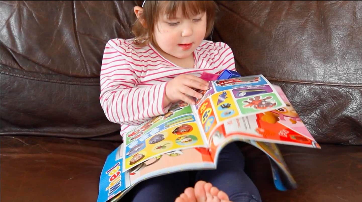 20 stickers free inside Paw Patrol magazine from Egmont publishing