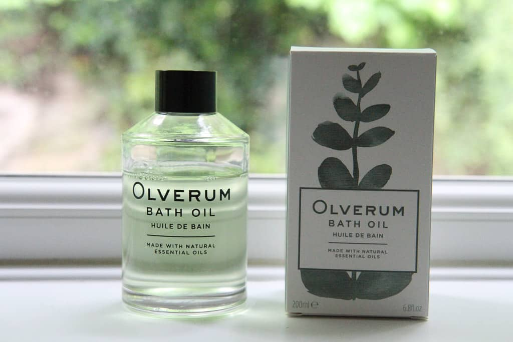 Olverum bath oil: best bath ever!