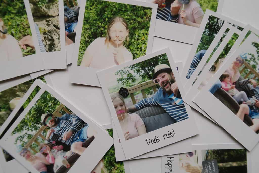retro prints form photobox