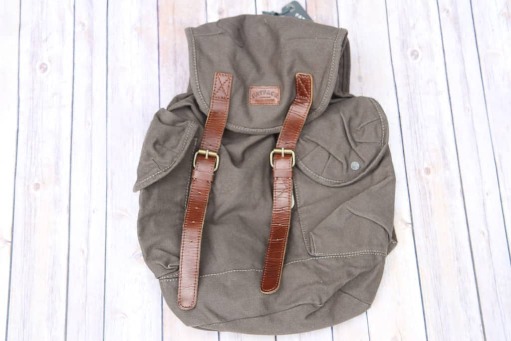 Eddie canvas rucksack from FatFace