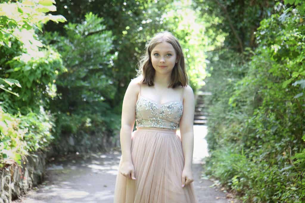 Holly full length prom dress