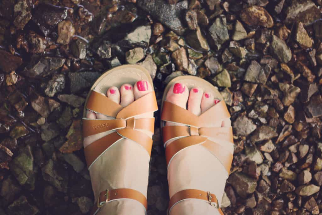 Pic of saltwater sandals