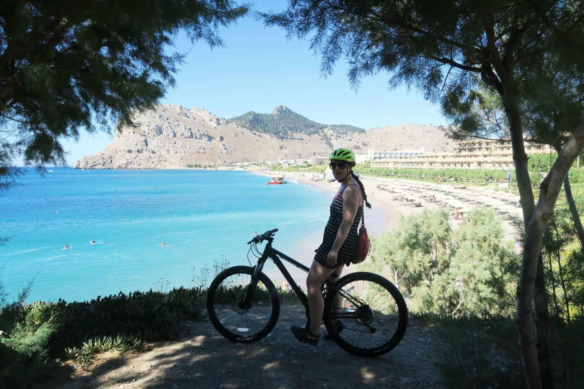 Bike riding with Mark Warner Levante beach