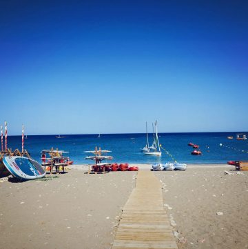 Beachfront at Levante Beach Rhodes Mark Warner
