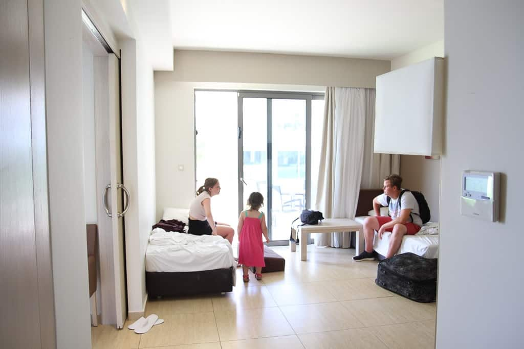 Levante Beach Hotel interconnecting suite