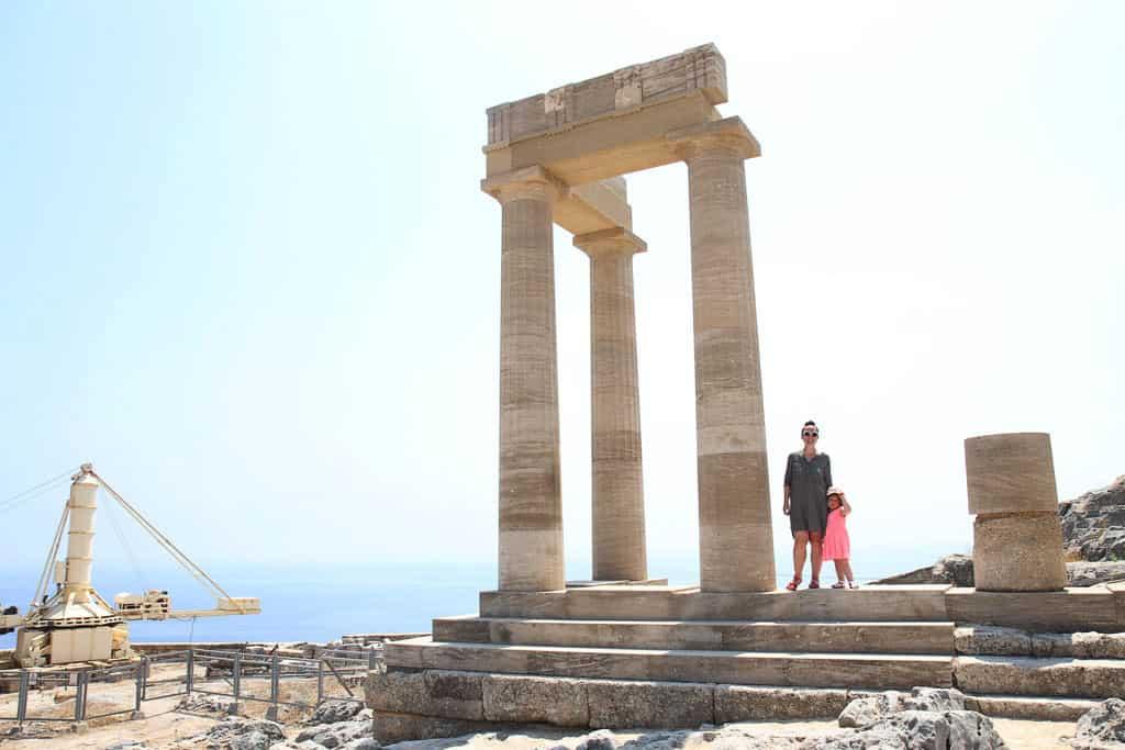 The Lindos acropolis, Rhodes