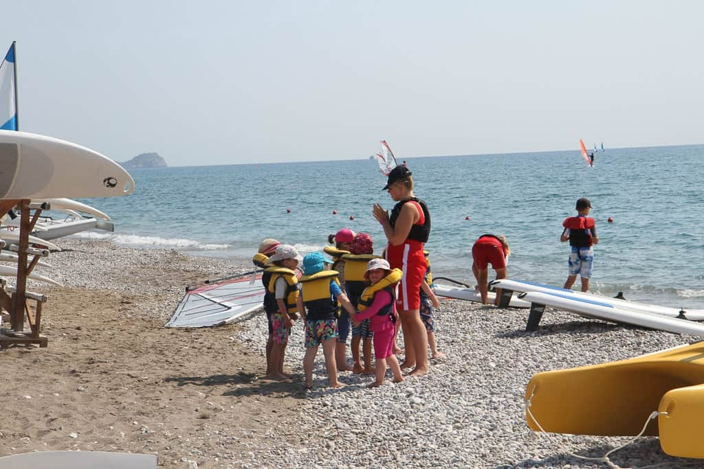 Childcare On the beach Mark Warner