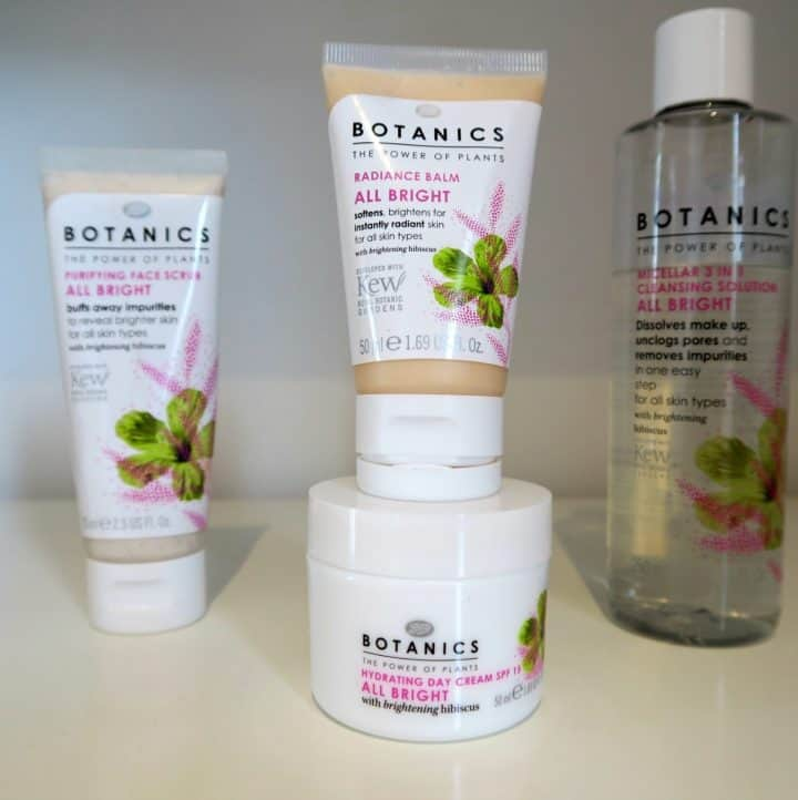 All Bright range from Boots Botanics