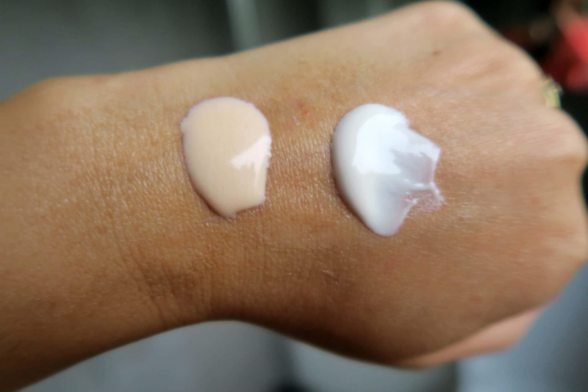 radiance balm and all bright moisturiser