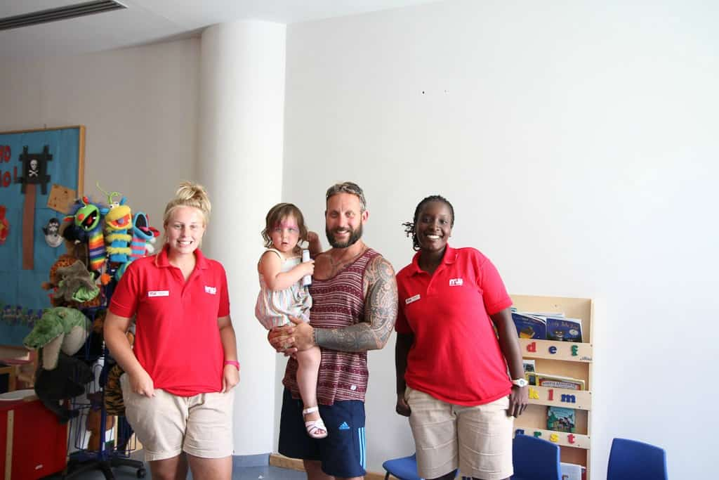 British nannies Mark Warner levante Beach resort