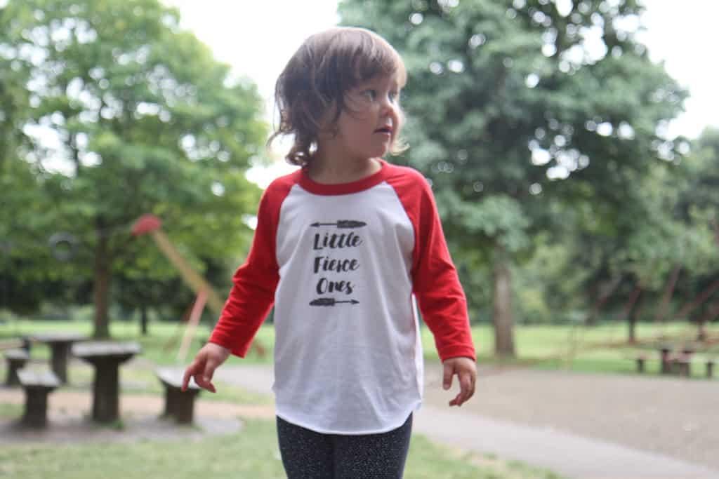 #LittleFierceOnes tee