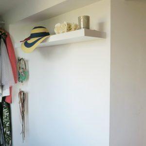 A dressing room make over with Valspar paint