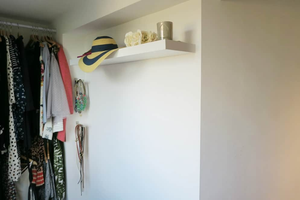 A dressing room make over with Valspar paint