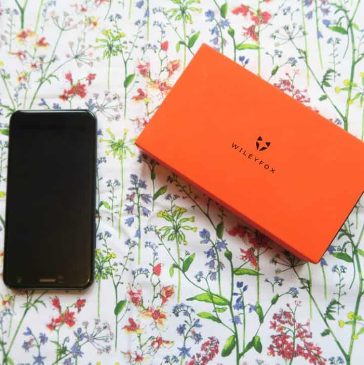 Wileyfox spark plus and orange branded packaging