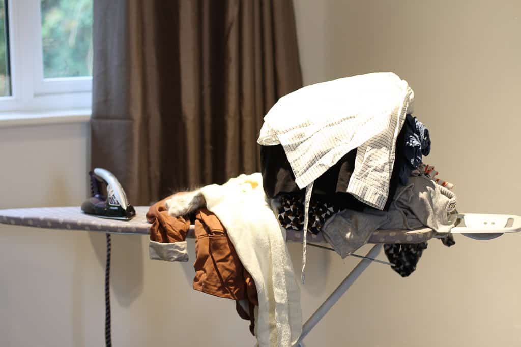 Tackling the mountain of ironing with Philips PerfectCare elite