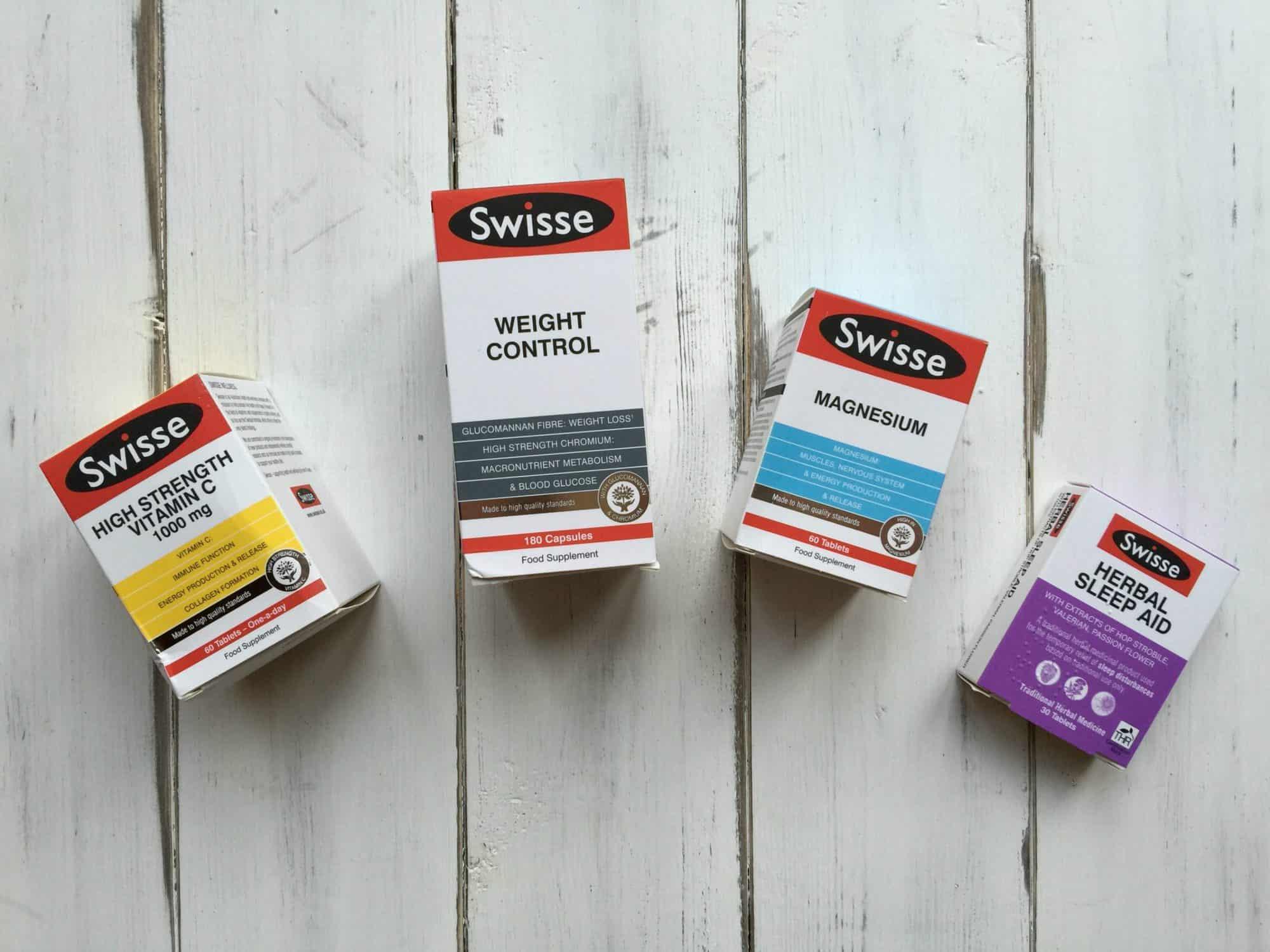 Swisse vitamins range