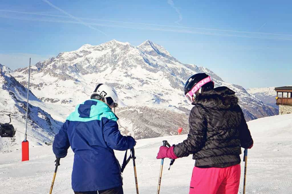 Ski lessons with Evolution 2 ski school Val d'Isere