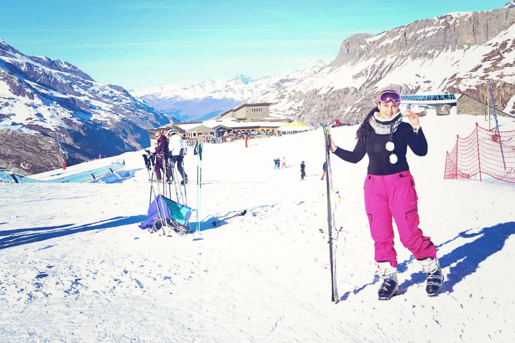 Skiing in Val d'Isere