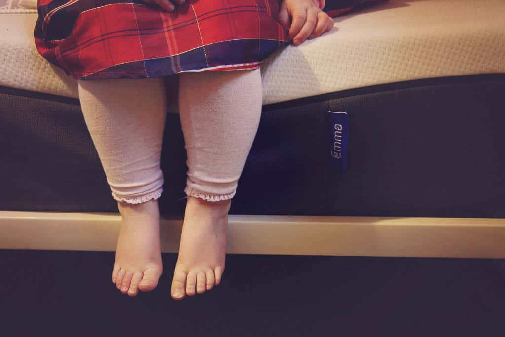 Emma foam sprung single mattress