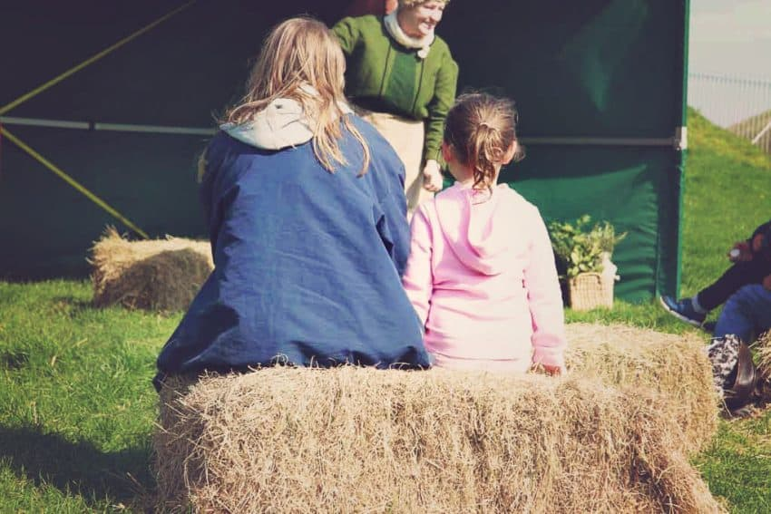 Storytelling with National Trust property Corfe Castle
