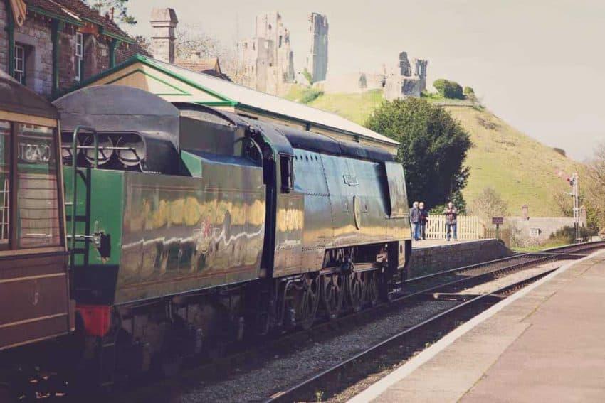 Corfe Castle train station